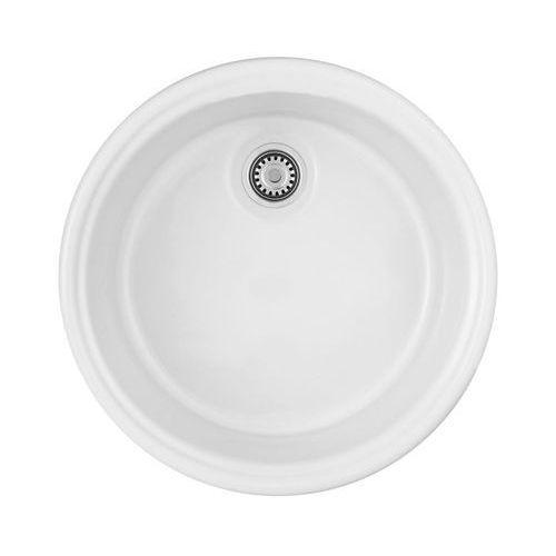 Zlewozmywak ceramiczny LUSITANO DEANTE, kolor biały