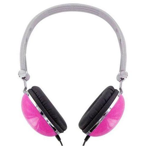 Słuchawki 4WORLD 4W pałąk Różowy marki 4World - słuchawki audio