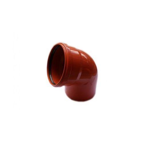Kolano kanalizacji zewnętrznej 200 mm/67° marki Poliplast