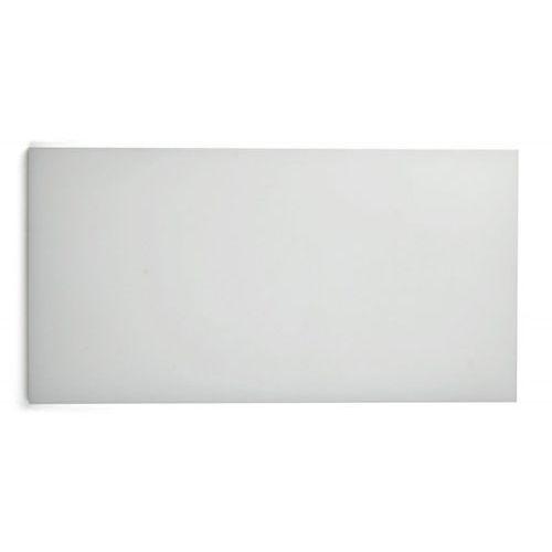 Deska polietylenowa HDPE do krojenia, biała, wymiary 49,5x24,9x2 cm, XANTIA 78562