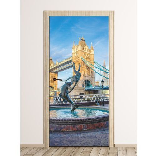 Wally - piękno dekoracji Fototapeta na drzwi widok na tower bridge fp 6121