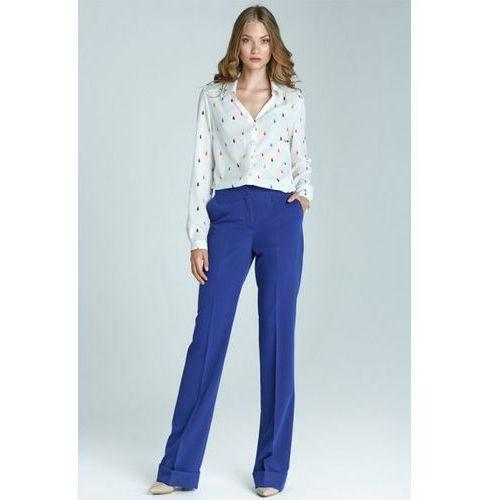 Spodnie damskie model sd21 1104 blue, Nife