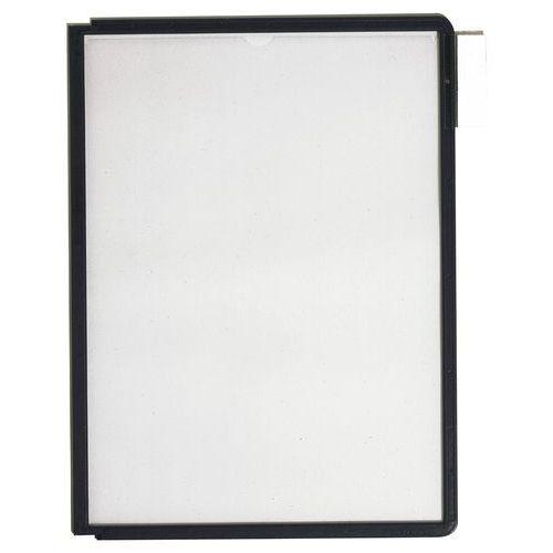Durable Panele prezentacyjne sherpa a4 czarne