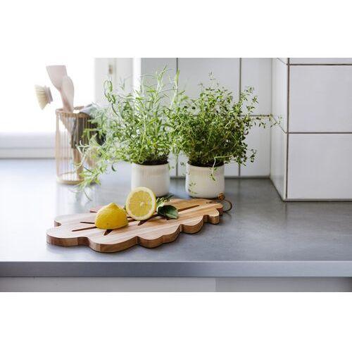 Deska do krojenia i serwowania z wyżłobieniem liść dębu (2006) marki Spring copenhagen