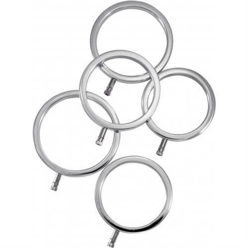 Electrastim (uk) Zestaw pierścieni do elektrostymulacji (5 szt.)
