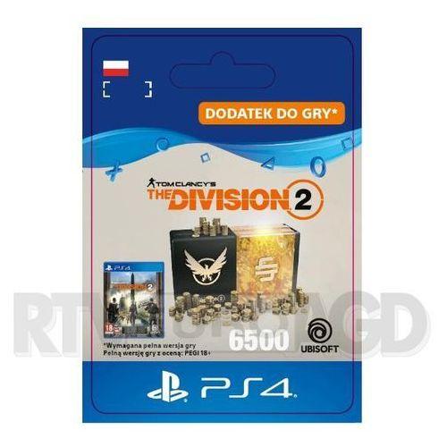 Sony Tom clancy's the division 2 - pakiet 6500 kredytów [kod aktywacyjny] ps4 (0000006201451)
