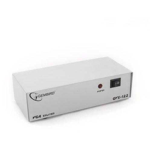 Gembird  video splitter vga 2 monitory - dostawa gratis, kategoria: pozostałe akcesoria do laptopów