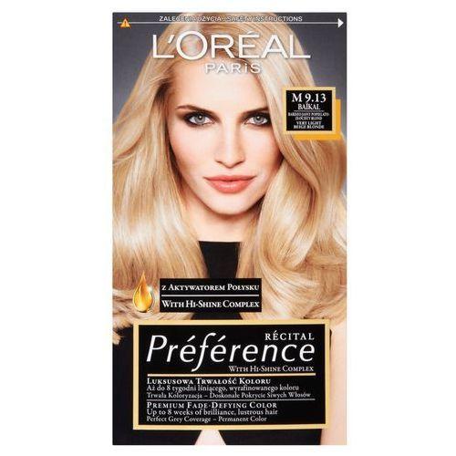 L'oreal paris recital preference. farba do włosów, m 9.13 baikal - l'oreal paris (3600521915318)