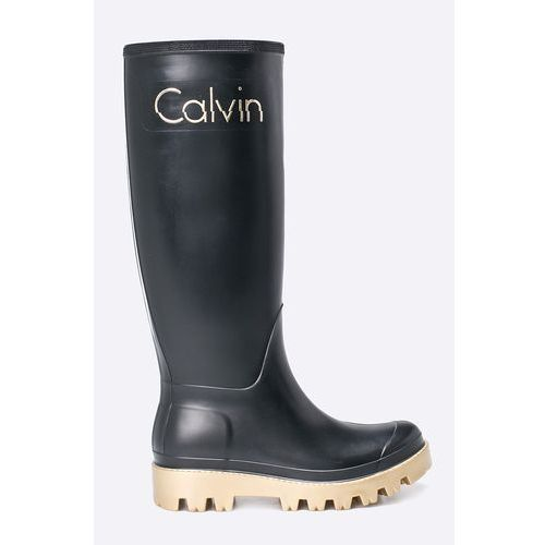 jeans - kalosze marki Calvin klein