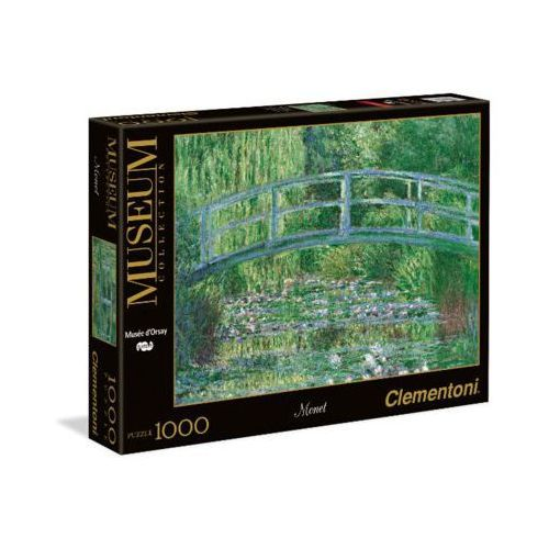 CLEMENTONI 1000 EL. C. Monet, Zielona Harmonia - produkt z kategorii- Gry planszowe