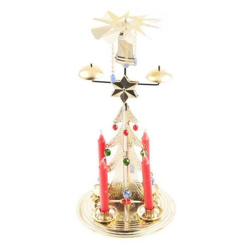 Tradycyjna ruchoma dekoracja Choinka złoty, 30 cm
