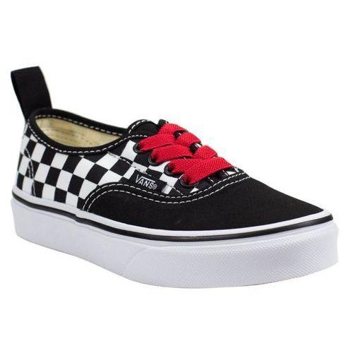 Vans Nowe buty authentic elastic lace black/red/true white rozmiar 30,5/18cm