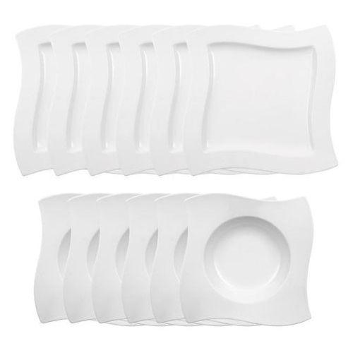 Villeroy & Boch - NewWave Zestaw talerzy dla 6 osób
