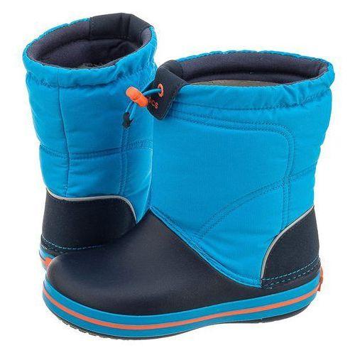 Śniegowce Crocs Crocband Lodge Point Boot K Ocean 203509-4A5 (CR106-a), 203509-4A5