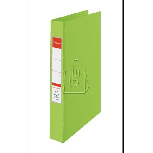 Segregator ringowy Esselte z mechanizmem kóółkowym A4/2RR/25 zielony (14453), ES037-4