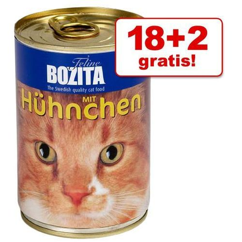 Bozita 18 + 2 gratis! w galarecie, 20 x 410 g - wołowina| -5% rabat dla nowych klientów| darmowa dostawa od 89 zł i super promocje od zooplus! (7300330005717)