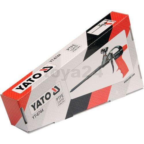 Pistolet do pianki montażowej ptfe Yato YT-6744 - ZYSKAJ RABAT 30 ZŁ