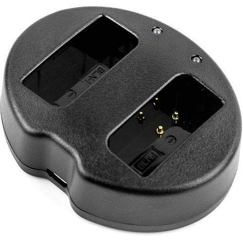 Olympus EM1 II / BCN-1 ładowarka USB DC 8.4V x 2 do BLN-1 (Cameron Sino)