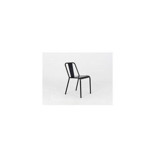Customform Krzesło metalowe ira - czarny