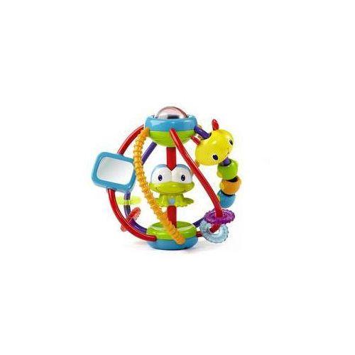 Zabawka dla zwierząt  aktywna kula czerwona/niebieska/żółta/zielona marki Bright starts