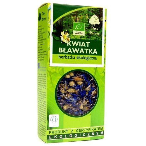 Dary Natury Kwiat bławatka, bławatek Herbatka ekologiczna 25g (5902741009982)