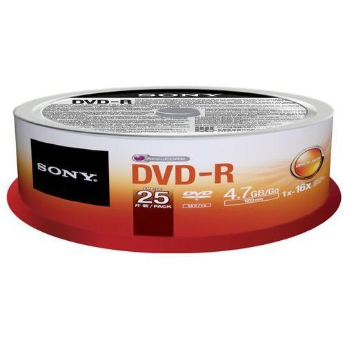 Sony Płyta dvd-r 25dmr-47sp cake x16 -25szt