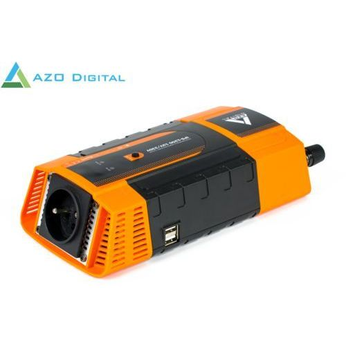 Azo digital Samochodowa przetwornica napięcia 12 vdc / 230 vac ips-1200 1200w (5905279203679)