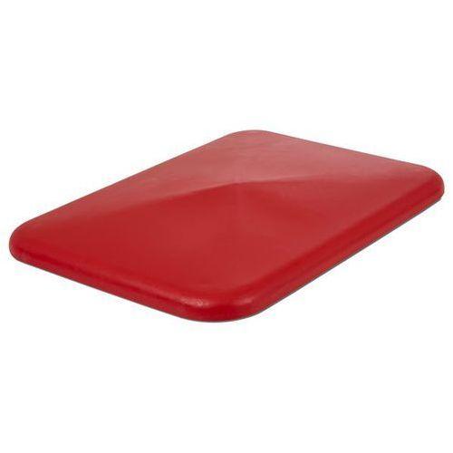 Pokrywa, do pojemników 340 l, czerwony. marki Vectura behältermanagement