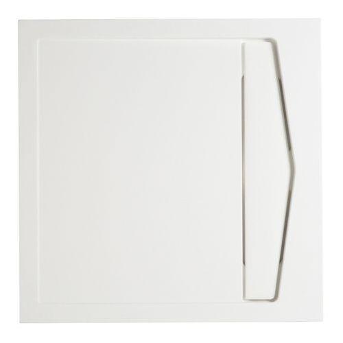 Brodzik konglomeratowy helgea kwadratowy 90 x 90 x 4,5 cm marki Cooke&lewis