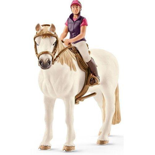 Jeździec rekreacyjny z koniem slh42359 - marki Schleich