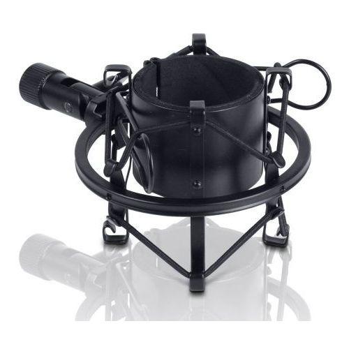 LD Systems DSM45B uniwersalny uchwyt mikrofonowy antywibracyjny typu ″koszyk″, 45-49 mm (czarny)