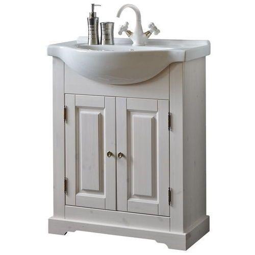 Drewniana szafka pod umywalkę ROMANTIC NOWY FSC 862-U65