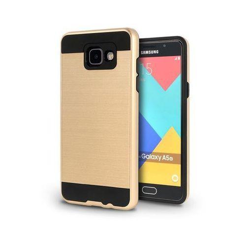 alufit gold | lekka i cienka obudowa dla modelu samsung galaxy a3 2016 - gold marki Tech-protect