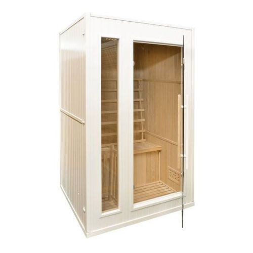 Home & garden Sauna fińska z piecem e2 white (5902425322369)