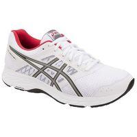 Męskie buty gel-contend 5 1011a256-100 biały/czarny/czerwony 40 marki Asics