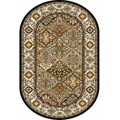Dywan standard bergenia oliwka (owal) 100x180 marki Agnella