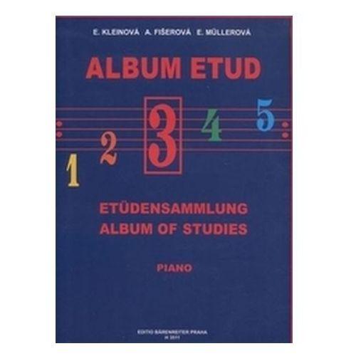 Album etud III Kleinová; Fišerová; Mullerová