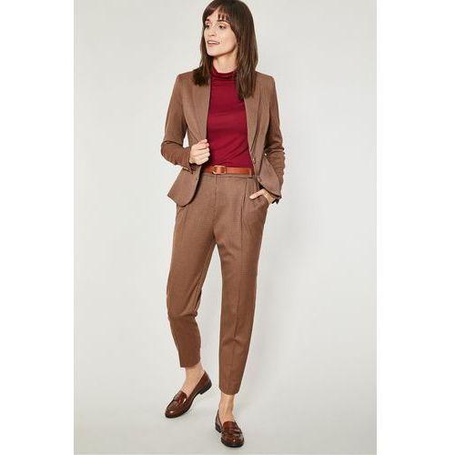 Eleganckie spodnie w pepitkę Lubeka
