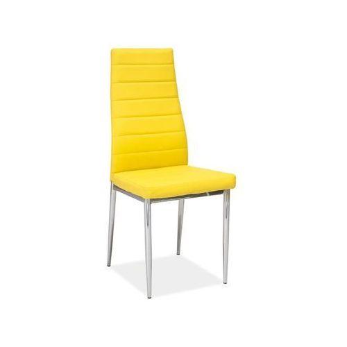 Signal Nowoczesne krzesło h-261 yellow