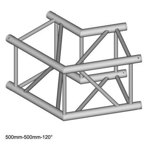DuraTruss DT 44/2-C22-L120 element konstrukcji aluminiowej, narożnik 120st 50cm