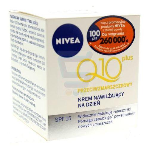 Nivea visage q10 przeciwzmarszczkowy nawilżajacy krem do twarzy na dzień 50 ml (4005808935895)