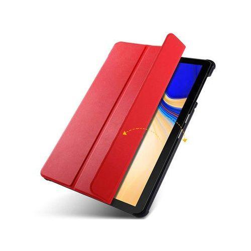 Etui book cover samsung galaxy tab s4 10.5 t830/t835 czerwone - czerwony marki Alogy