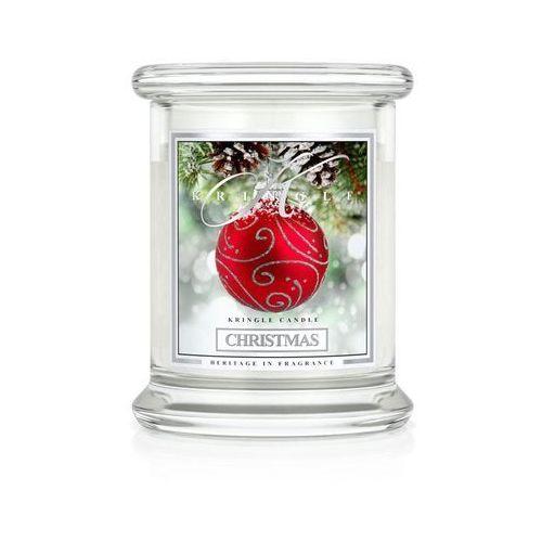 Christmas świeca zapachowa Kringle Candle Święta mały słoik 8,5oz 240g