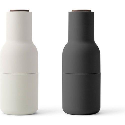 Młynki do soli i pieprzu Bottle Grinder, Ash/Carbon orzech, 2 szt - Menu (5709262002191)