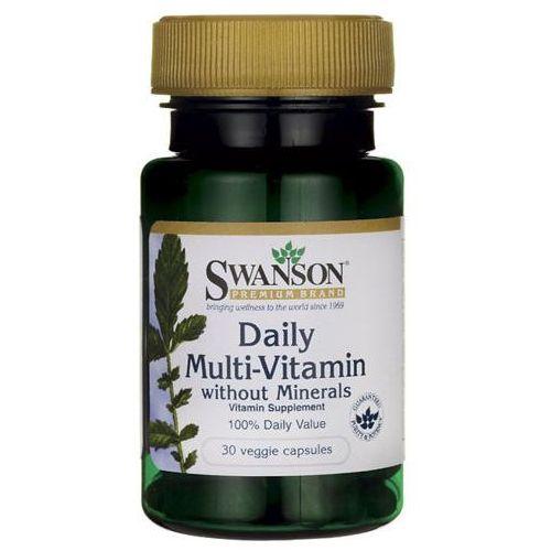 Kapsułki SWANSON Daily Multi-Vitamin x 30 kapsułek