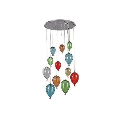 Ideal-lux clown sp12 multikolor 100951 plafon --lampa z ekspozycji -- marki Ideal lux