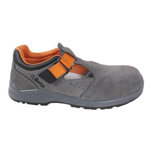 Sandały robocze zamszowe, BE7216SN/42