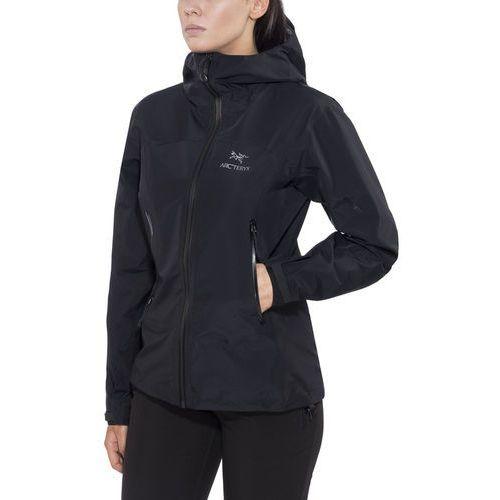 zeta lt kurtka kobiety czarny l 2018 kurtki przeciwdeszczowe marki Arc'teryx