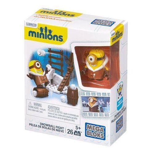 Klocki Mega Bloks Minionki Bitwa na śnieżki