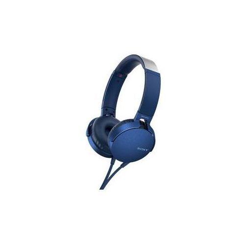 Sony Słuchawki mdr-xb550ap extra bass™ (mdrxb550apl.ce7) niebieska